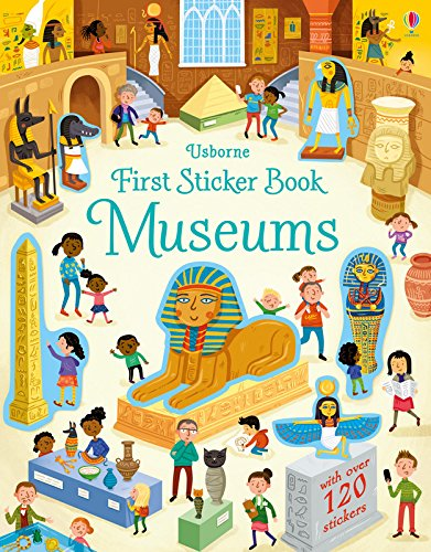 First Sticker Book Museums (First Sticker Books) por Holly Bathie