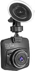 ToGames Dashcam Full HD 1080P Autokamera,Auto DVR Dashboard Camera,170° Weitwinkelobjektiv 2,4 Zoll LCD Dash Cam
