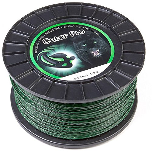 Fil nylon Cuter'Pro 3,3 mm x 139 m, hélicoïdal, bobine - Pièce neuve
