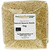 Buy Whole Foods Organic Natural Sesame Seeds 1 Kg