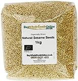 Buy Whole Foods Organic Natural Sesame Seeds 1 Kg