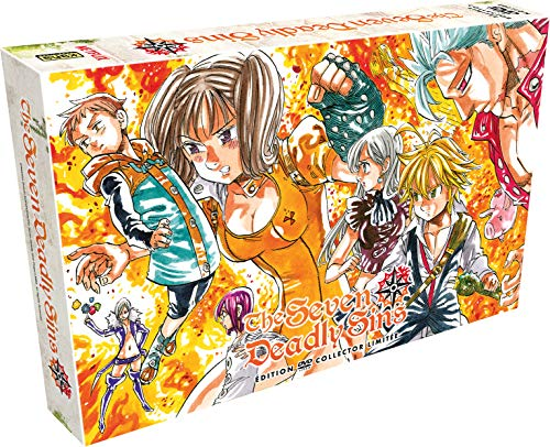 Coffret seven deadly sins, saison 1 [FR Import]