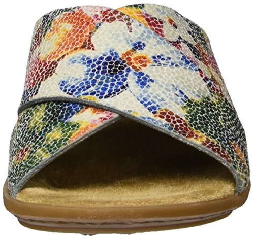 Rieker 63460, Ciabatte Donna Multicolore (Ice-multi / 90)