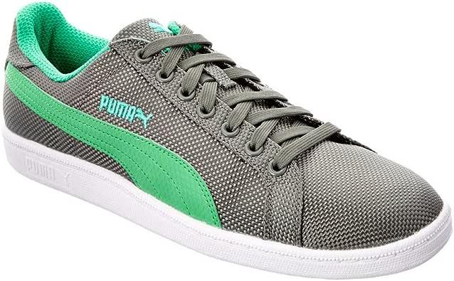 PUMA Men's Smash Ripstop Gray Sneaker 9 D (M):