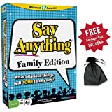 Say Anything Family with Free Storage Ba...