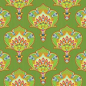 20serviettes en papier Inde Style Décoration Vert pour découpage Motif ethnique 33x 33x 33cm/D