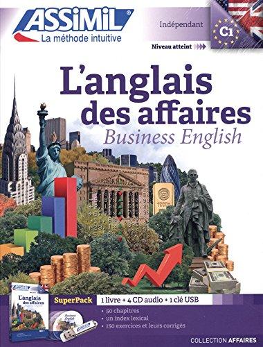 Anglais des Affaires Superpack (livre+4CD audio+1CD mp3)