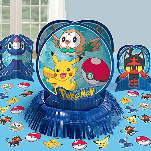 amscan 281859 DEC Table kit Pokémon Core