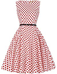 50s Rockabilly Kleid Festliches Kleid Partykleider Cocktailkleider GD6086 New