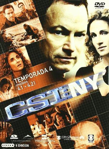 CSI New York (4ª temporada completa) [DVD]