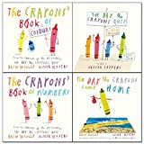 Crayons drew daywalt 4 books collection set