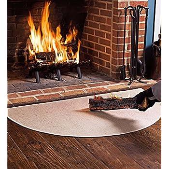 68 58cm X 121 92cm Flame Resistant Fiberglass Half Round