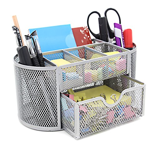 Mesh-Desk-Organiser-Set-Office-Tidy-Desktop-Multi-functional-Storage-Pen-Pencil-Holder
