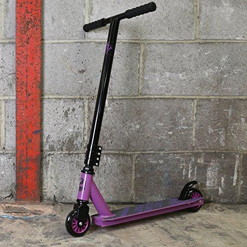 Stunt Scooter Street Pro Kick/Push 360 Spin Tricks Edition (Matrix (Purple))