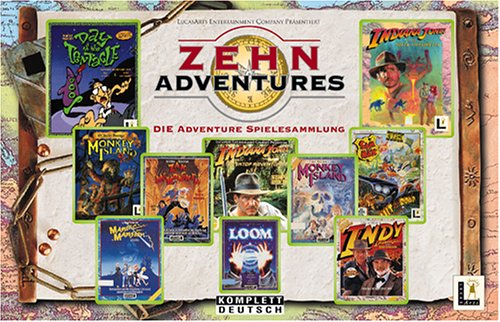 30 Jahre Abenteuer: Adventure-Spiele 1976-2008 (German Edition)