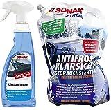 SONAX Xtreme Winter Set GEBRAUCHSFERTIG AntiFrost & KlarSicht + ScheibenEnteiser