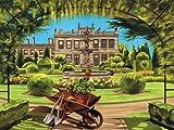 REEVES Malen nach Zahlen Englisch Heritage REEVES Sommergarten 30 x 40 cm Acryl
