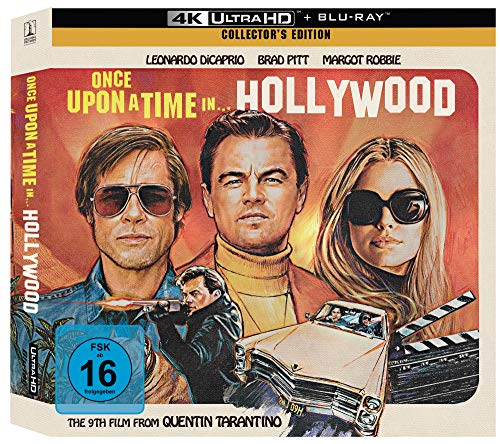 Once Upon A Time In... Hollywood [Limited Vinyl Collector\'s Edition] (Exklusiv bei Amazon.de) [Blu-ray]