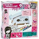 Lansay - 35005 -  Loisirs créatifs - Techno Art - Boom Box - Rose