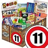 DDR Box XXL | Spezialitäten Korb | Zahl 11 | Geschenkset Mutter