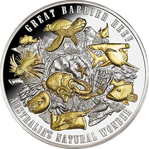 GREAT BARRIER REEF Australias Natural Wonder 5 Oz Silver Coin 10$ Niue 2018 (Silber Münzen 5 Oz)
