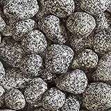 Cobbles décoratifs en granit argenté de 50 à 75 mm 800 kg