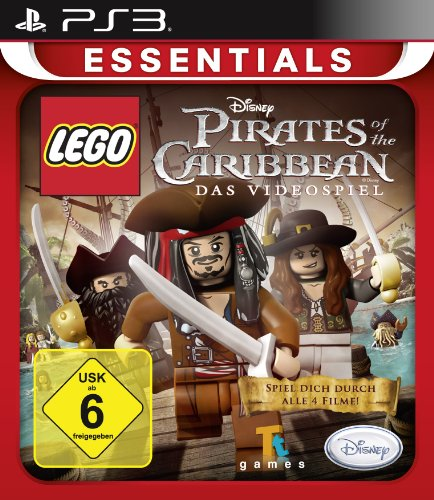 LEGO Pirates of the Caribbean [Essentials] - [PlayStation 3] Lego Piraten Spiel