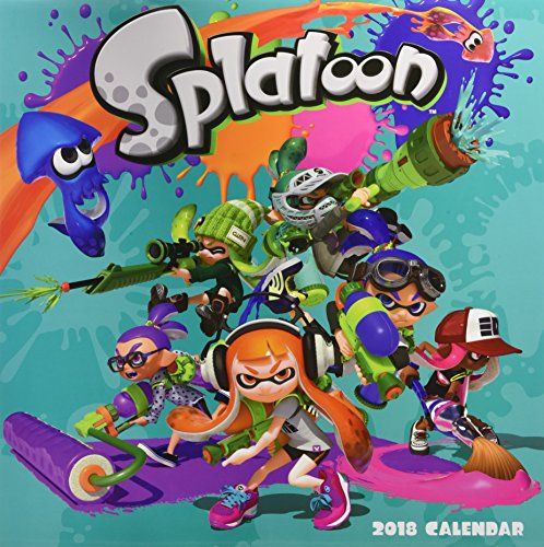 Splatoon (TM) 2018 Wall Calendar (Calendars 2018)