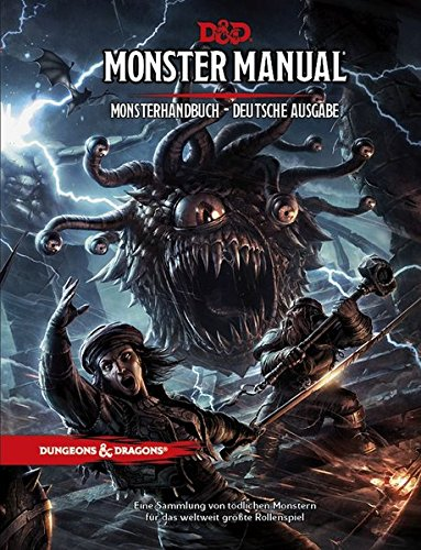 Dungeons & Dragons Monster Manual - Monsterhandbuch (Dungeons & Dragons / Regelwerke) - Rpg Master Game