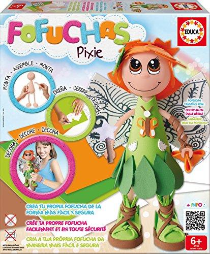 Fofuchas - Pixie Hada, juego creativo (Educa Borrás 16115)