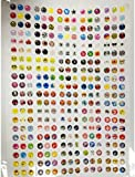 SODIAL(R) new nice 300pcs home button sticker for iphone4/4s/5£¬ipad