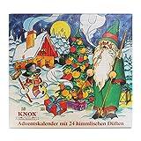 Knox Räucherkerzen-Adventskalender mit 24 himmlischen Düften (Weihnachtsmann)
