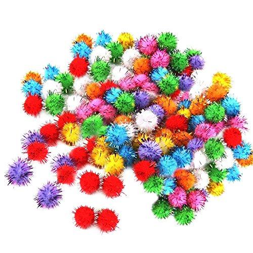100pcs-mini-boule-colore-paillette-brillant-tinsel-pompom-jouets-chien-chat