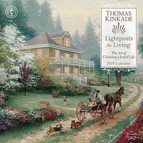 Thomas Kinkade Lightposts for Living 2019 Calendar par Thomas Kinkade