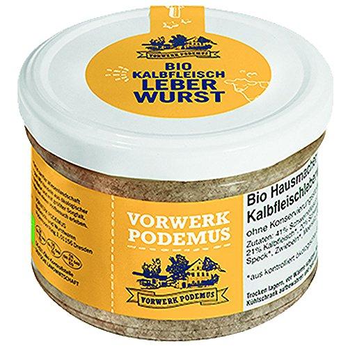 Vorwerk Podemus Bio Kalbsfleisch Leberwurst (2 x 170 gr)