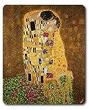 Gustav Klimt - Il Bacio II Tappetino per Mouse (23 x 19cm)