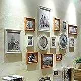ZPQ Fotowand Foto Wand, Nordic Foto Wand Kreative Foto Rahmen Wand Foto Wand Wohnzimmer Schlafzimmer Sofa Hintergrund Wand (Farbe : 1#)