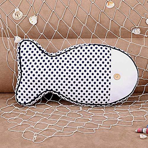 kh Das Hause Tuch Möbel Kreative mittelmeer Stoff - Polster Anime - Kissen, Kissen 44 * 23 * 7cm/Polka - Dots -