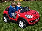 Elektroauto Kinderfahrzeug Lizenz BMW Lizenz Mini SUV MINI XXL Beachcomber Kinderauto Kinderelektroauto Buggy Kinderfahrzeug 12 Volt rot