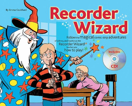 RECORDER WIZARD (BOOK &CD)