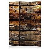 murando - Biombo - de impresion bilateral en el lienzo de TNT de calidad - Decoracion cuarto - Biombo de madera con imagen impresa - f-A-0384-z-b