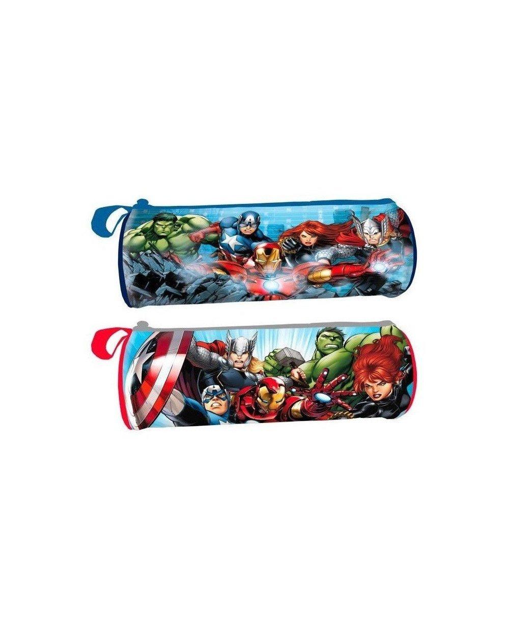 Portatodo Los Vengadores Marvel Team cilindrico surtido