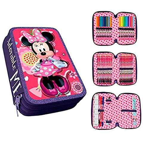 Disney Minnie Mouse AS013 / AST1780 - Case, 20 cm, multicolore