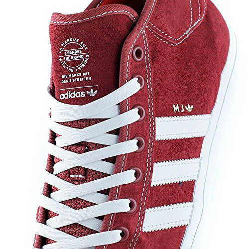 adidas Matchcourt Mid' Mys Red/Cry White/Gold Metal. Mys Red /Cry White/Gold Metal