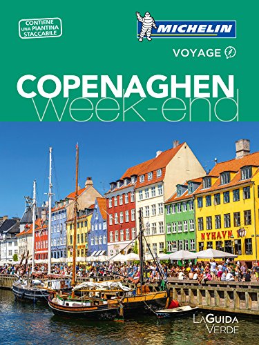 Copenaghen week-end. Con Carta geografica