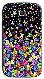 Mixroom - Cover Custodia Case in TPU Silicone Morbida per Samsung Galaxy Grand Neo I9060 (Plus) M575 Farfalle Multicolore