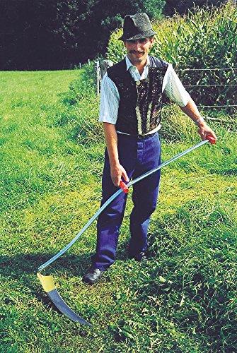 Kerbl 50305 Klappsense Wettschliffsense 65 cm mit Sensenworb, 150 cm