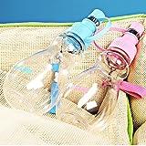 Caldera portátil para mascotas al aire libre / Caldera de viaje / 240ML Fuente de agua , blue
