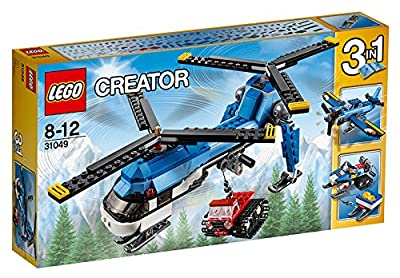 LEGO 31049 Creator Twin Spin Helicopter Construction Set
