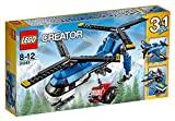 #6: Lego Twin Spin Helicopter, Multi Color